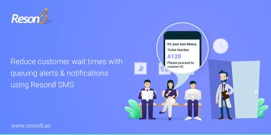 Managing Queues and Social Distancing With Reson8 SMS Alerts